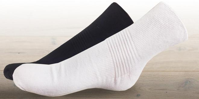 Balení 4 párů bavlněných wellness ponožek