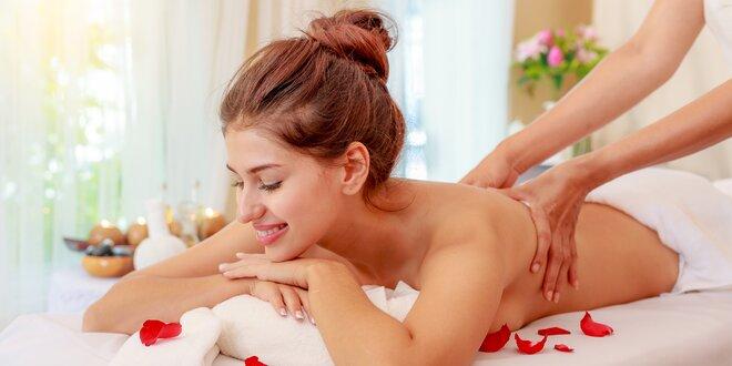 Luxusní voňavá masáž dle výběru