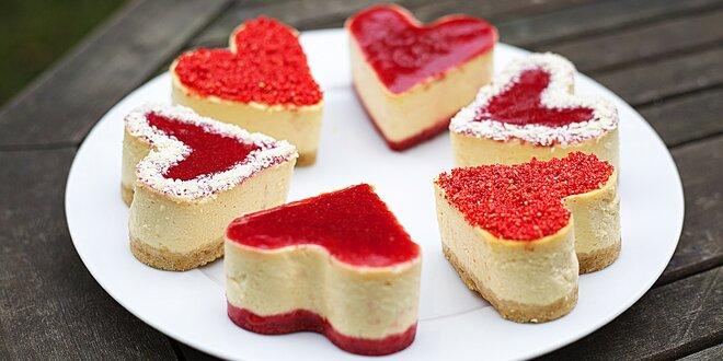 Dorty z lásky: set domácích mini cheesecaků