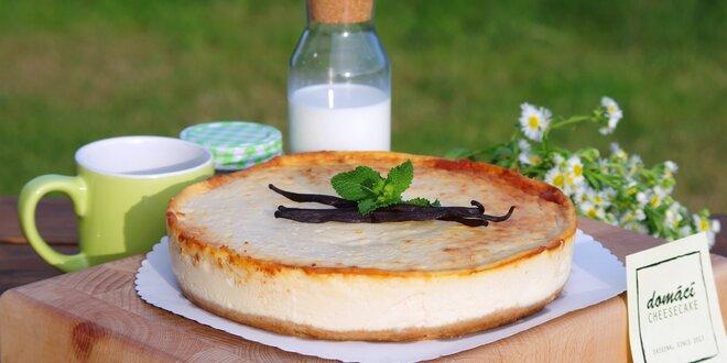 Poctivý domácí cheesecake z čerstvých surovin