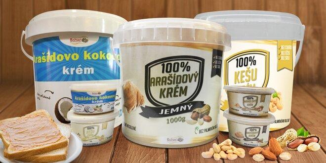 Oříškové krémy na chuť i vaření plné bílkovin