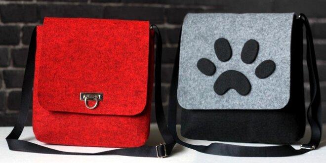 Designové kabelky vyrobené z PET lahví