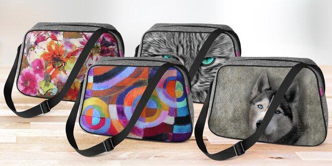 Designové ekologické kabelky nejen na kočárek