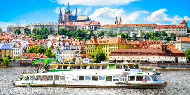 Vyhlídková plavba po Vltavě s možností rautu