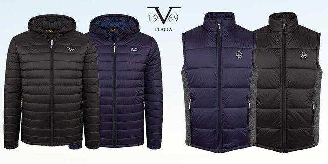Pánské prošívané zimní bundy a vesty 19V69 Italia