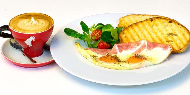 Snídaně v designové kavárně u I. P. Pavlova