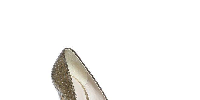 Luxusní boty ve zlaté barvě Bourne