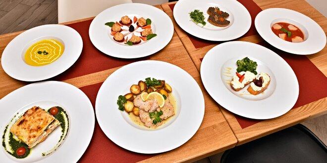 Gurmánské 5chodové menu pro 2 zamilované