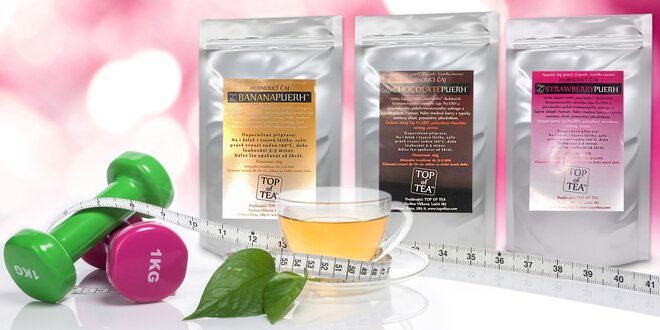 Detoxikační čaje Pu-Erh - doprovodí vás na cestě za štíhlou postavou