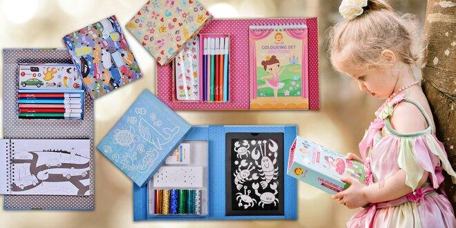 Kreativní sety pro tvořivé děti - 12 motivů