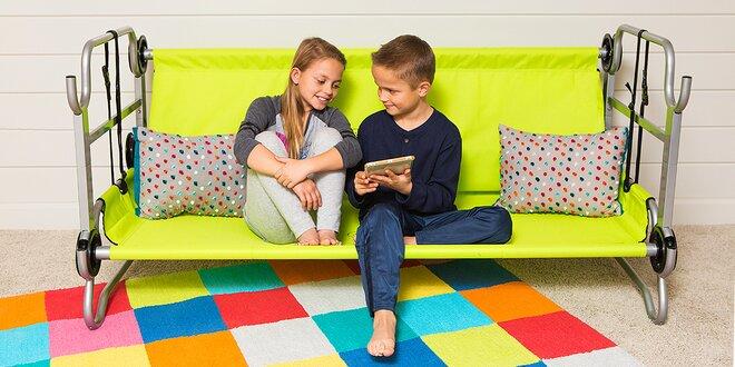 Rozkládací patrová postel pro děti Discobed