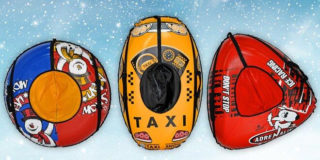 To bude jízda: Sněžné kluzáky pro děti i dospělé