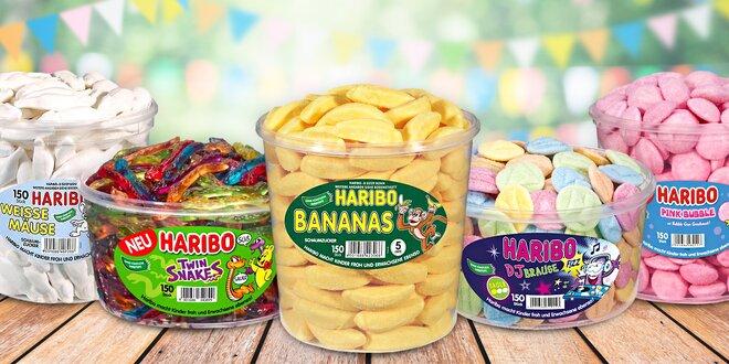 Ovocné želé Haribo: 11 druhů ovocných pamlsků