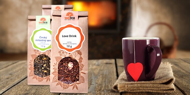 Lahodné sypané čaje a očistné bylinné kůry