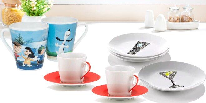 To nejlepší z kredence: Skleničky, talíře i hrnečky