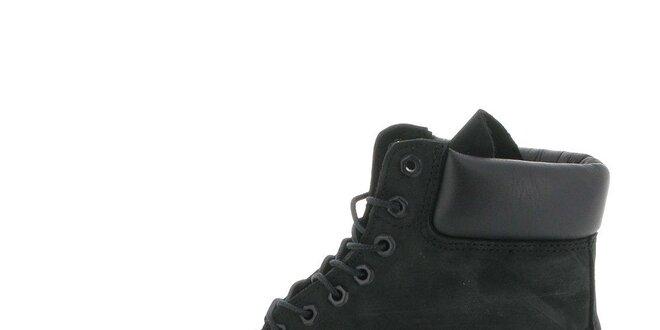 Pánské vysoké černé boty Timberland  362fb87ce0