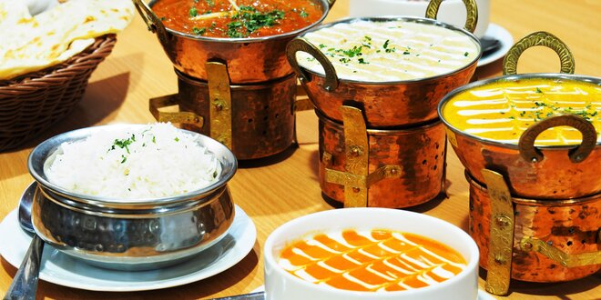 3chodové menu v nepálské restauraci