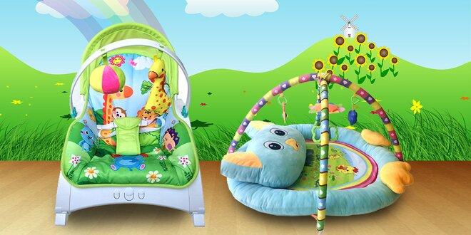 Dětské hrací deky nebo houpací křesílko