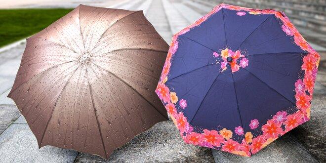 Originální deštník s motivem deště