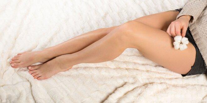 Trvalá epilace lýtek nebo intimních partií