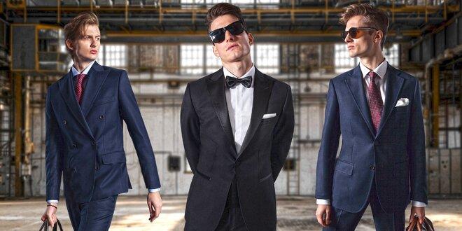 Stylové pánské obleky Guns&Tuxedos