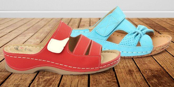 Dámské zdravotní pantofle nebo sandály KOKA
