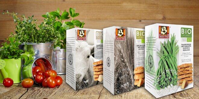 Sušenky v bio kvalitě: 5 delikátních příchutí