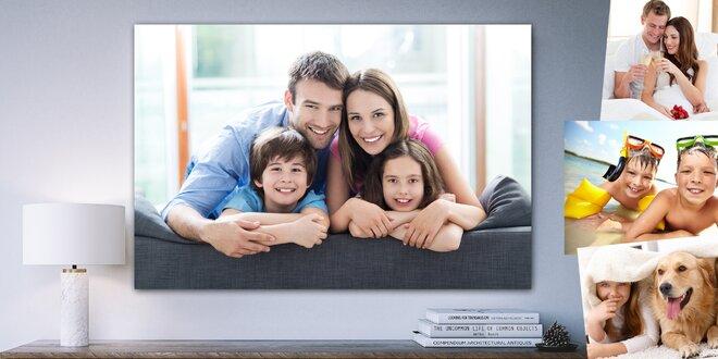 Velké fotografie o rozměru 60×40 nebo 90×60 cm