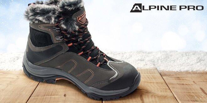 Dámská zateplená zimní obuv Alpine Pro  2d67d2c7d35