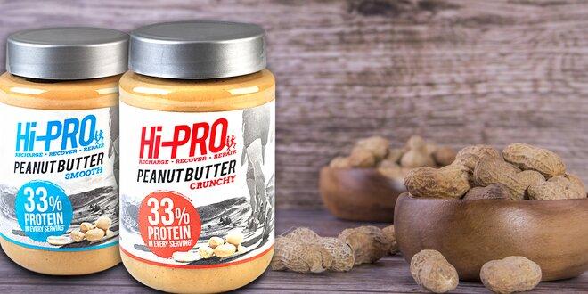 Skvělý arašídový krém plný bílkovin bez cukru