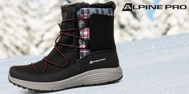 Dámské zimní boty Alpine Pro s kožíškem  5331020c6c4