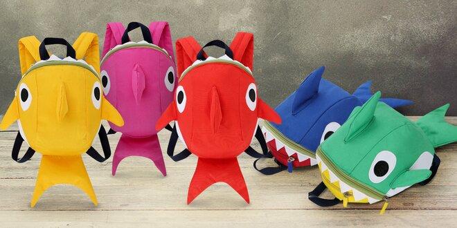 Dětský batůžek ve tvaru žraloka: 5 barev