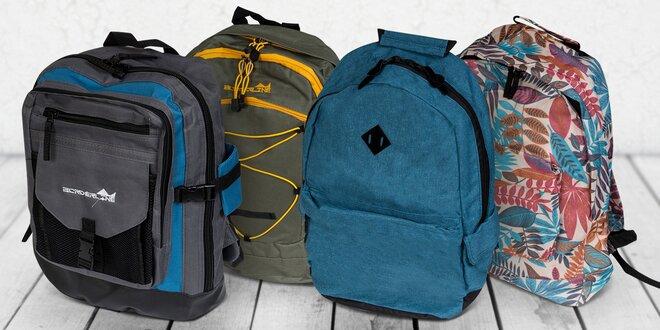 Praktické batohy do města i na výlety