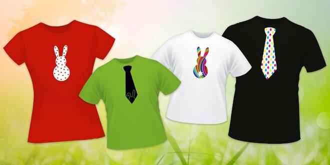Velikonoční trička pro celou rodinu