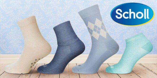 Kvalitní dámské a pánské ponožky Scholl