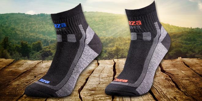 Tři páry funkčních ponožek Ceza SILVER