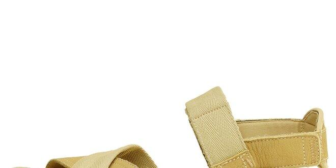 Dámské béžové sandále Levis