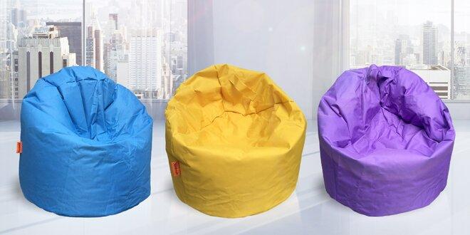 Odolné sedací vaky ve 13 barvách a 2 velikostech