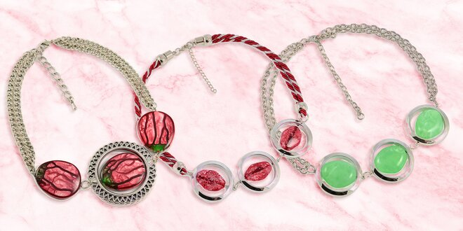 Elegantní a neobvyklé náhrdelníky pro dámy