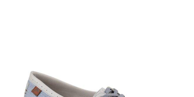 Dámské modro-bílé mokasíny Head