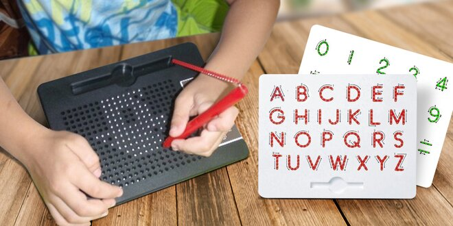 MagPad: Zábavné i naučné magnetické tabulky