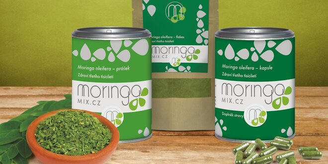 Moringa bohatá na živiny a antioxidanty