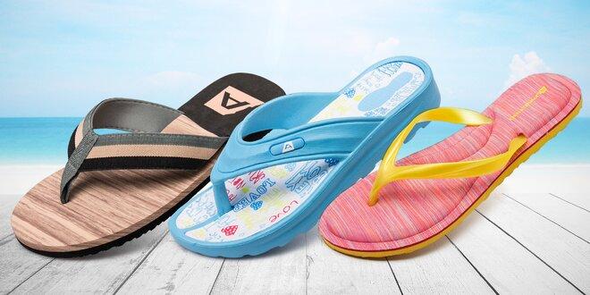 Pantofle a žabky Alpine Pro
