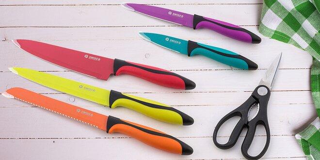 Sada švýcarských kuchyňských nožů SWISS Q