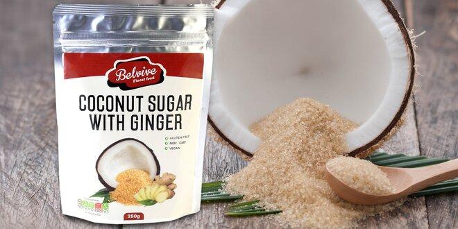 Slaďte zdravěji: Kokosový cukr se zázvorem