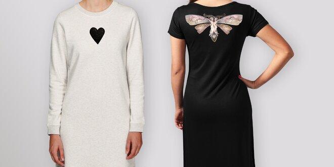 Šaty a dlouhá trika od Lény Brauner pro Klokánky