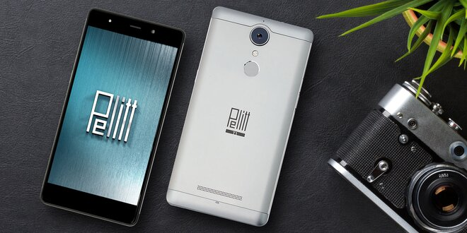 "Kovový smartphone Pelitt T1 Plus s 5,5"" HD displejem"