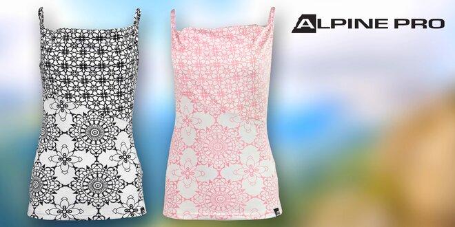 Lehké a prodyšné dámské topy Alpine Pro