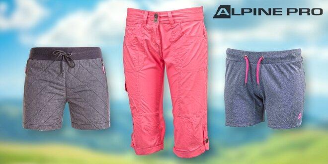 23bb32757b43 Dámské capri a šortky Alpine Pro
