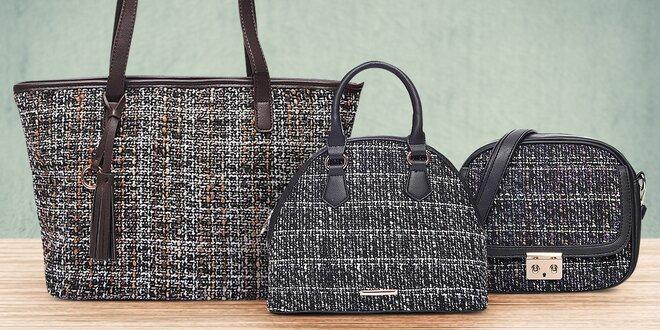 Elegantní dámské kabelky Tweed Bags  6e3d84413c2